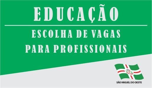 Educação convoca candidatos aprovados em seletivo para escolha de vagas