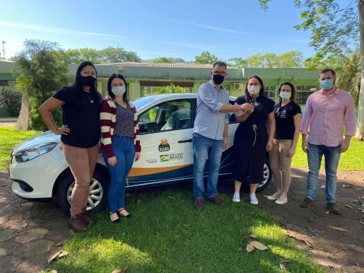 Itapiranga recebe veículo para Assistência Social