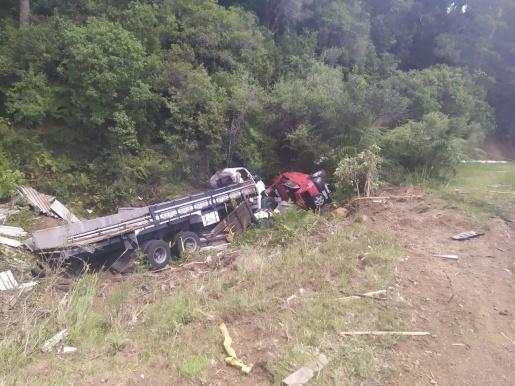 Acidente deixa três mortos na BR-282