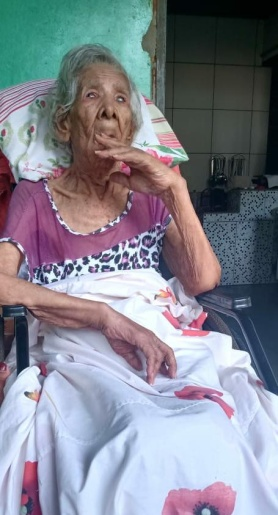 Morre aos 103 anos, mulher mais velha de Basílio da Gama