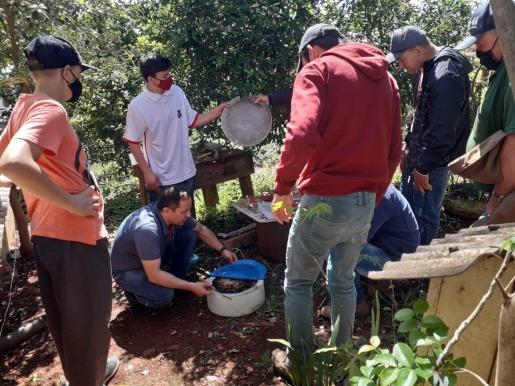 Epagri realiza mais uma capacitação técnica com apicultores