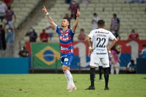 Grêmio perde para o Fortaleza,  e continua na vice-lanterna
