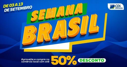 Semana do Brasil registra saldo positivo em São Miguel do Oeste