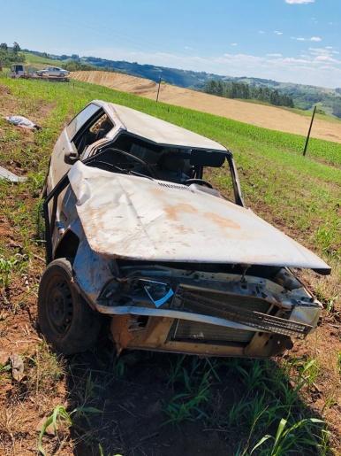 Homem fica gravemente ferido em acidente no interior de Tunápolis