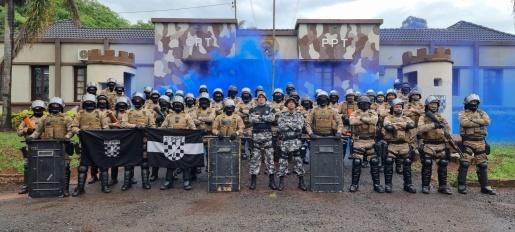 Choque: polícias militares participam de Curso de Treinamento Tático